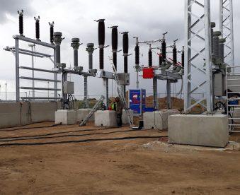 Neubau 110/20 kV Wind-Umspannwerk