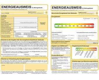 Energiesparanalysen / -ausweise